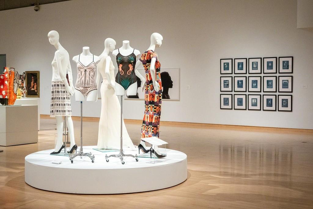 Installation view of In the Company of Women: Women Artists from the Collection ( Phoenix Art Museum, Arizona, July 06- August 12, 2018). Photograph by Airi Katsuta.