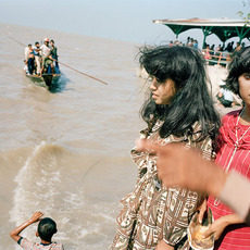 , 'On the Breakwater at Kenceran Beach during Idul Fitri, Surabaya,' 1982/ca. 1992, Taka Ishii Gallery