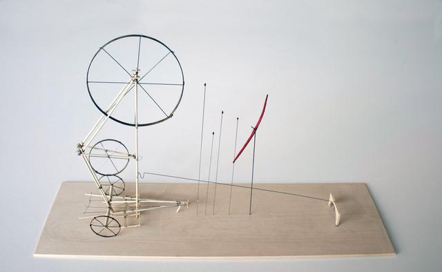 , 'Wheelie-Jig Player,' 2018, Tayloe Piggott Gallery