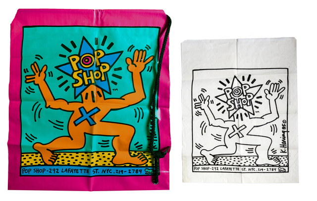 Keith Haring, 'Pop Shop shopping bags', 1986, Alternate Projects