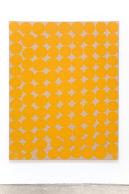 , 'Dos líneas ascendentes y convergentes entre las que había dispuesto pequeños cubos que representan un paisaje de L'Éstanque,' 2015, Christopher Grimes Gallery