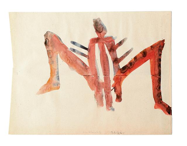 , 'Merkur auf dem Weg zur Venus,' 1993, Galerie Herold