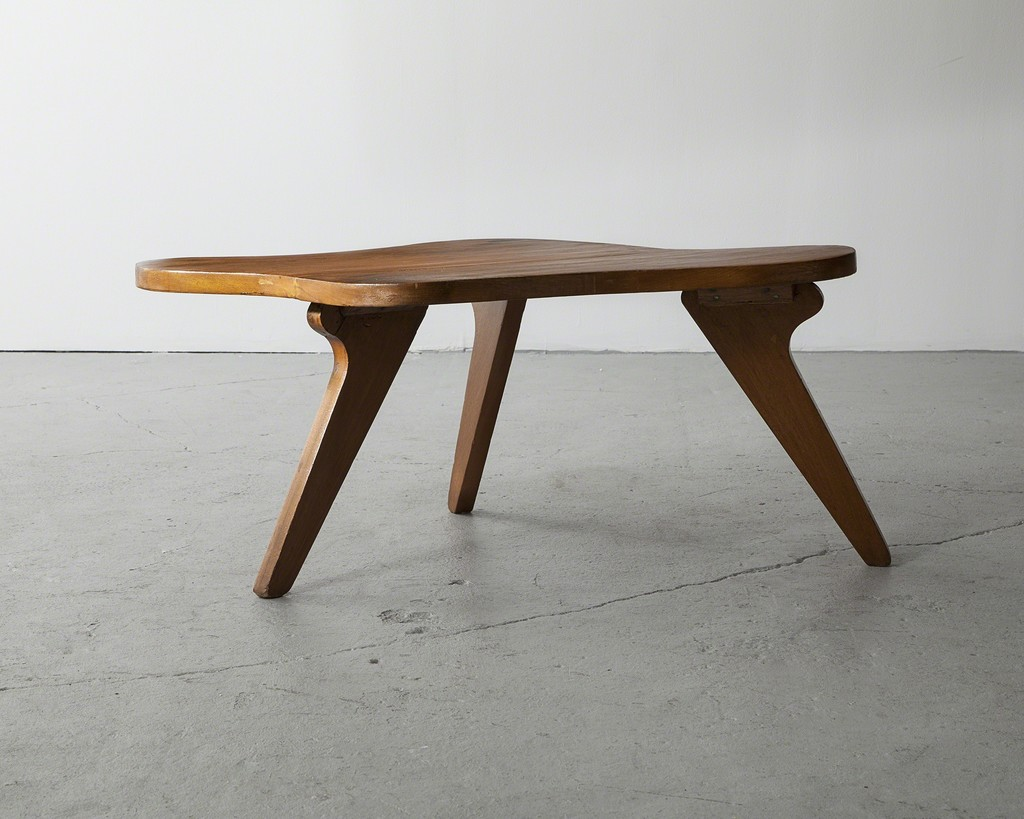 Organically shaped side table
