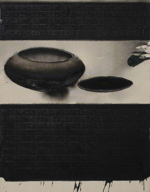 "Madhu Basu, 'Classical Vibration 2010, Still Life, Acrylic, Pigment, Black & White by Indian Artist ""In Stock""', 2018, Gallery Kolkata"