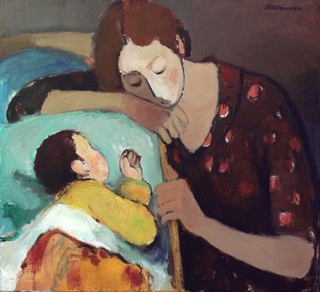 Kerop Dzarukovich Sogomonyan, 'Sleeping', 1997, Surikov Foundation