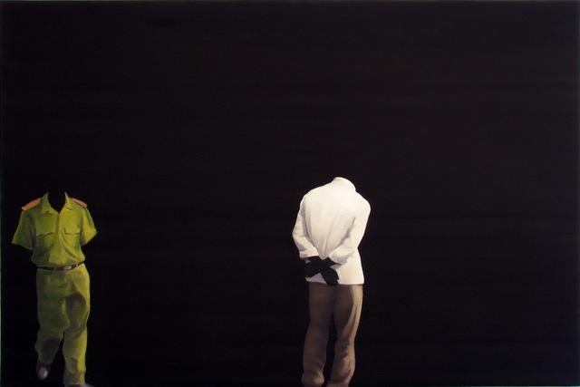, 'Black Painting No.90,' 2009, Primae Noctis Gallery