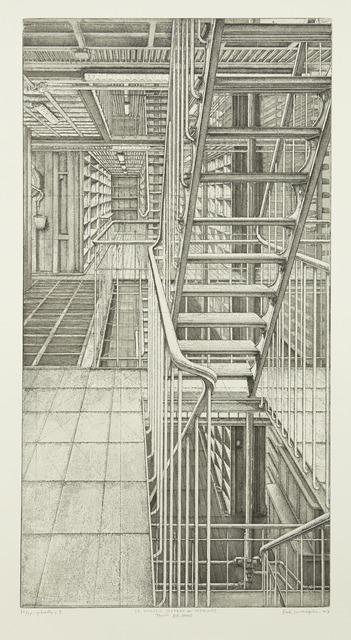 , 'Travée est-ouest, from Le Magasin central des imprimés,' 2013, Childs Gallery