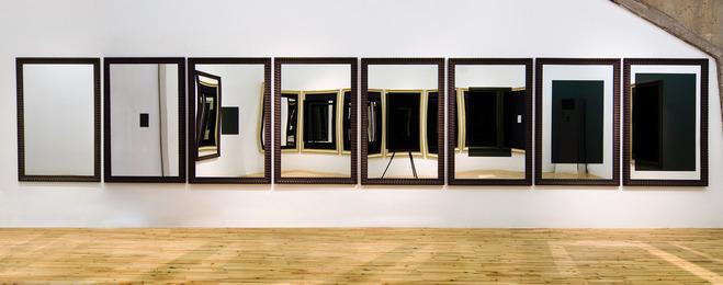 Michelangelo Pistoletto, 'Black and Light, Dark Perspective,' 2007, Galleria Continua