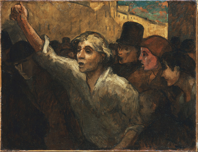 Honoré Daumier, 'The Uprising (L'Emeute)', Between 1848 and 1879, Phillips Collection