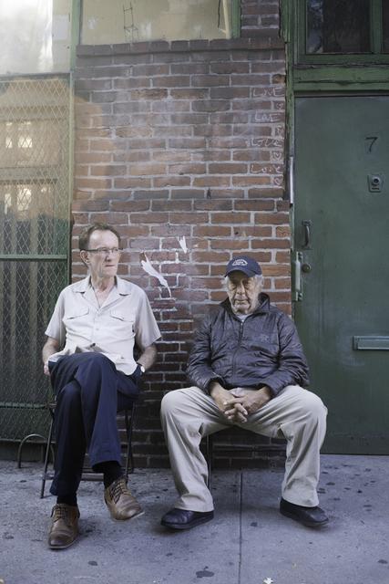 Jeffrey Silverthorne, 'Man and Robert Frank, New York', 2016, PDNB Gallery