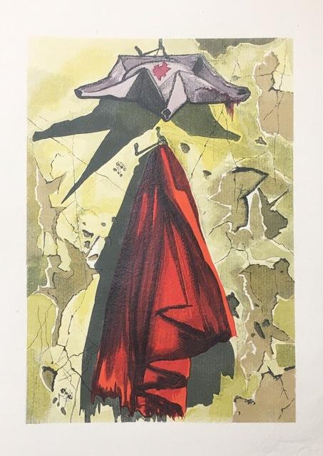 Salvador Dalí, 'Conclusion, mortalité et épilogue ', 1959, Drawing, Collage or other Work on Paper, Wood engraving, Dali Paris