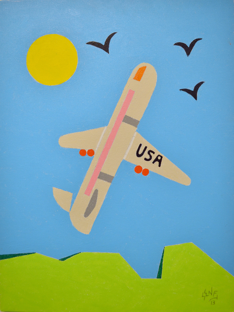 , 'Airplane,' 2013, Fountain House Gallery
