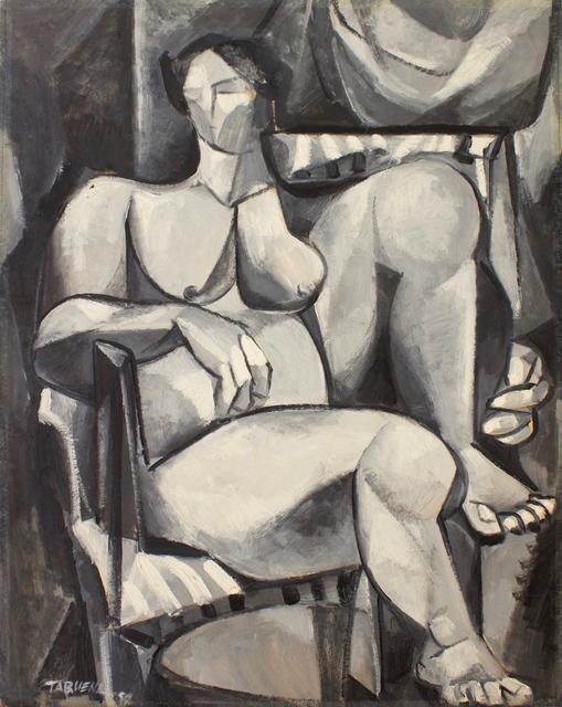 , 'Mujer Cubista,' 1954, Galería Nudo