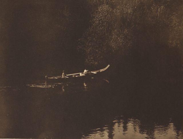 , 'On Klickitat River,' 1907-1930, Empty Gallery