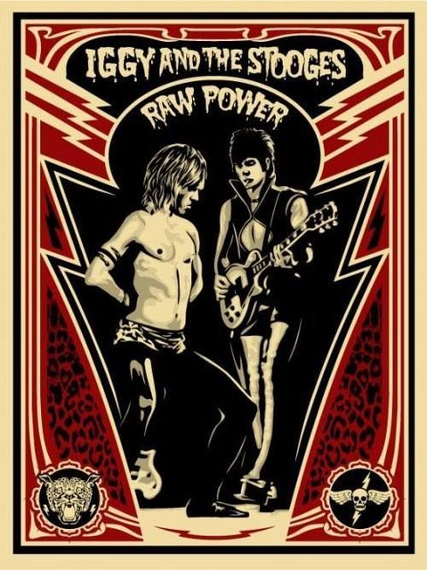 Shepard Fairey, 'Raw Power - Iggy Pop and the Stooges', ca. 2018, AYNAC Gallery