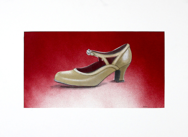 , 'A Gold Slipper,' 2019, Kiechel Fine Art
