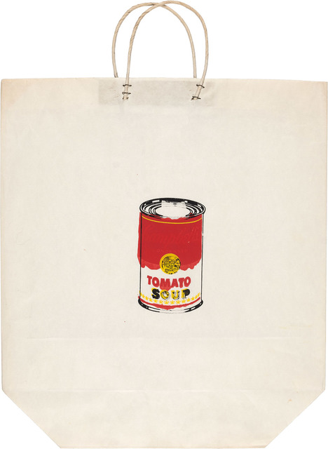 Andy Warhol, 'Campbell's Soup Can On A Shopping Bag (F./S. 4)', 1964, Doyle