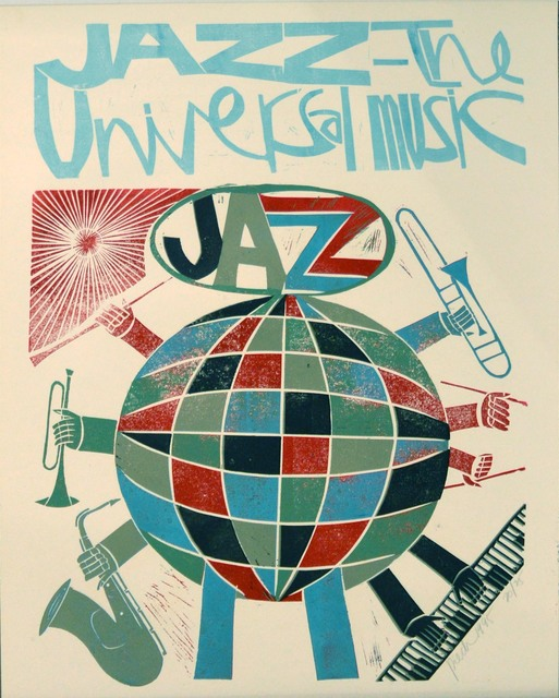 , 'Jazz is the universal music,' 1995, Waterhouse & Dodd