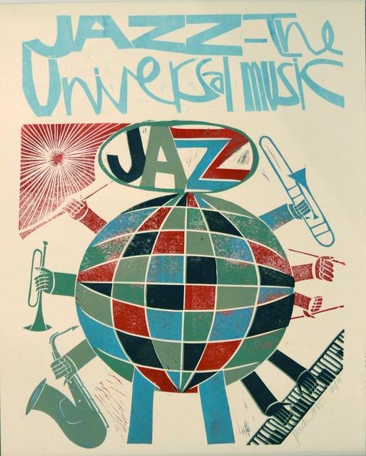 , 'Jazz is the Universal Music,' 1995, Waterhouse & Dodd
