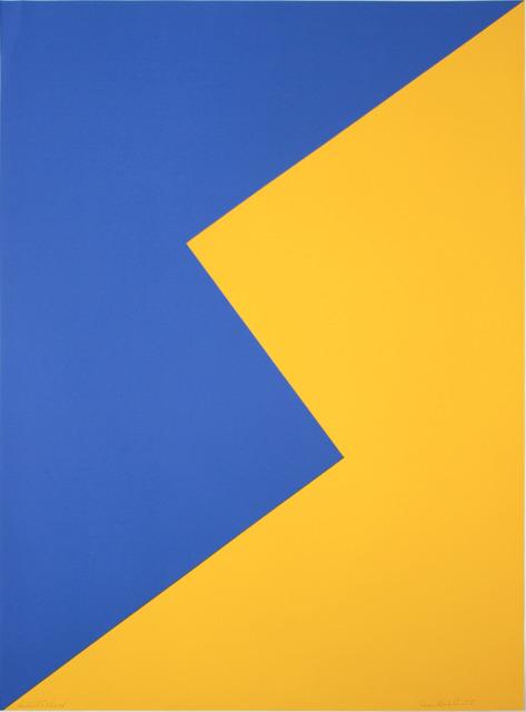 Leon Polk Smith, 'UNTITLED (TAMARIND J)', 1968, Lora Reynolds Gallery