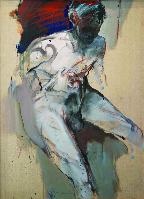 , 'Homme assis,' 2012, Bogena Galerie