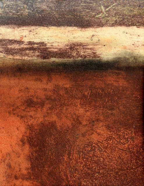 , 'Lava Field,' 2018, Little Buckland Gallery