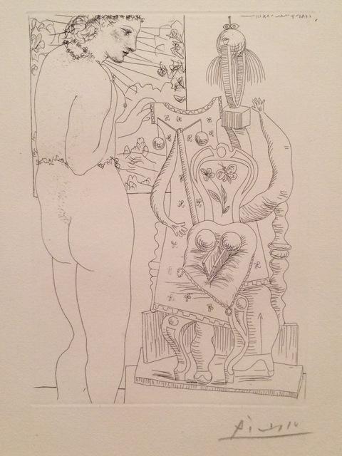 , 'Modèle et sculpture surrealiste (Marie-Thérèse),' 1933, Isselbacher Gallery