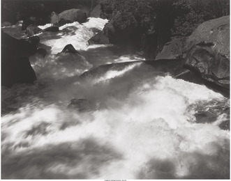 Rapids Below Vernal Falls, Yosemite Valley (from Portfolio 1