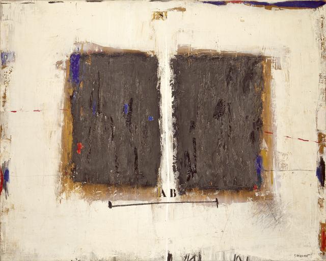 , 'Définition segmentique,' 1988, Galerie Capazza