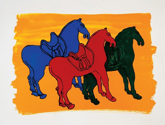 ", '""Ancient Chinese Horses"" For Parkett 52,' 1998, Parkett"