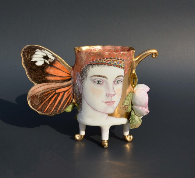 , 'Helicomus Butterfly Cup,' 2017, Duane Reed Gallery