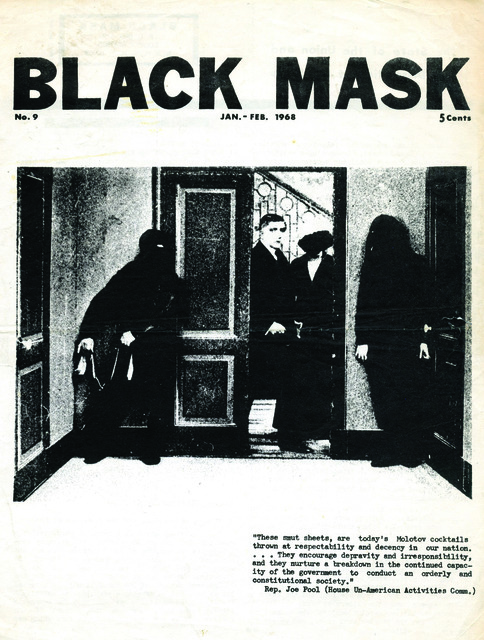 , 'Black Mask Issue No. 9,' 1968, Cantor Fitzgerald Gallery, Haverford College