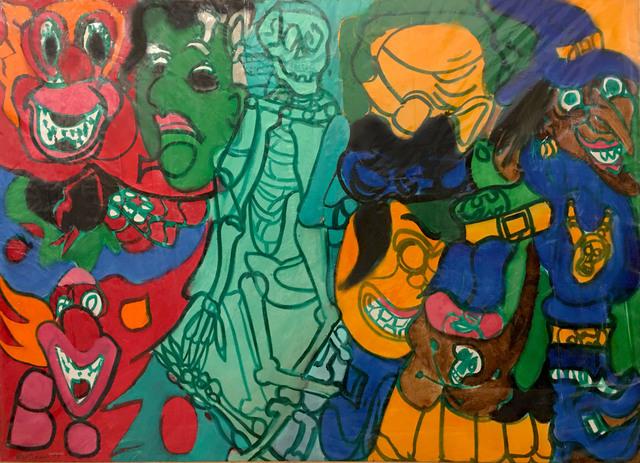 , 'Halloween Painting,' 1977, C. Grimaldis Gallery