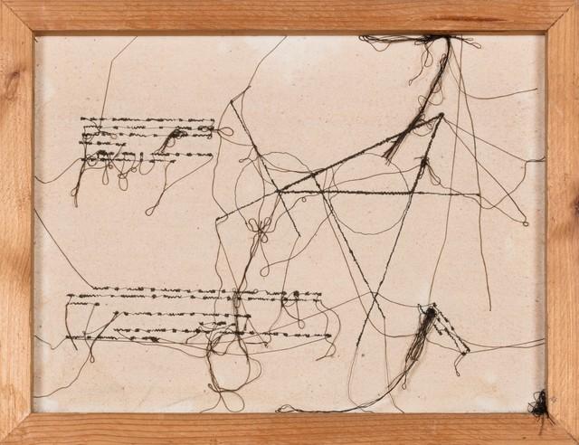 Maria Lai, 'Page written n°4', 1955, Finarte