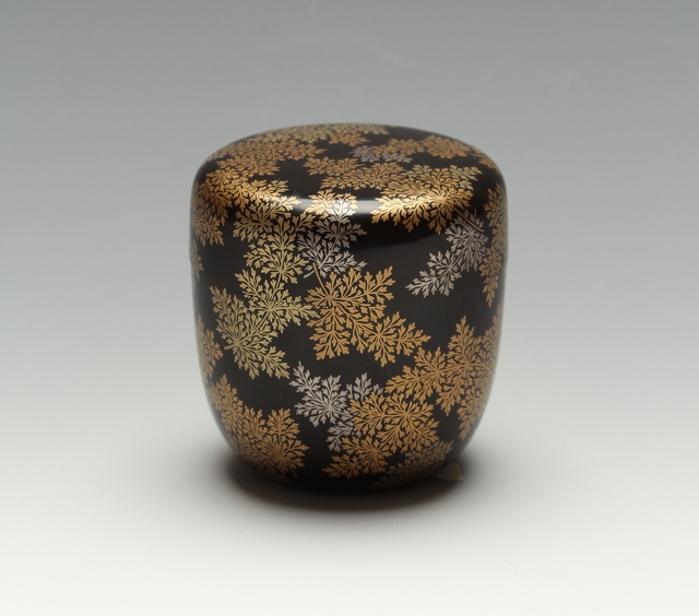 , 'Ferns Tea Caddy (T-3593),' Taisho era (1912-26) 1930s, Erik Thomsen