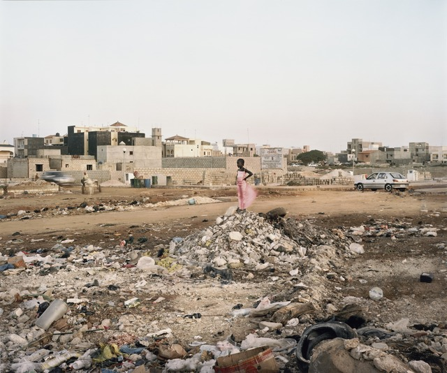 Jim Goldberg, 'Girl in Pink Dress, Senegal', 2008; printed 2011, Photography, Inkjet print, San Francisco Museum of Modern Art (SFMOMA)