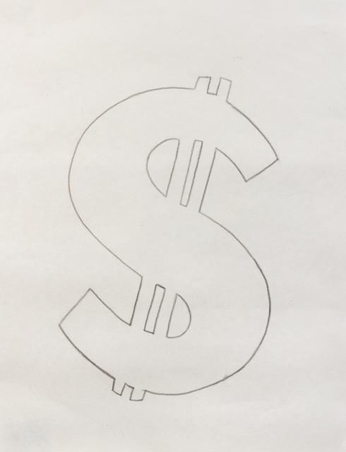 Andy Warhol, 'Dollar Signs', 1981, Hindman