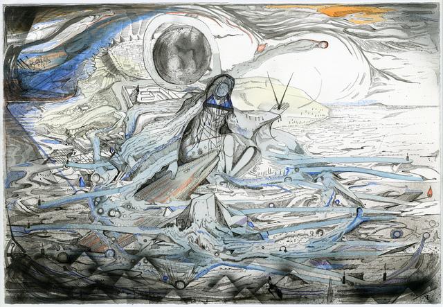 , 'The Nereid ,' 2014, Kunstraum LLC