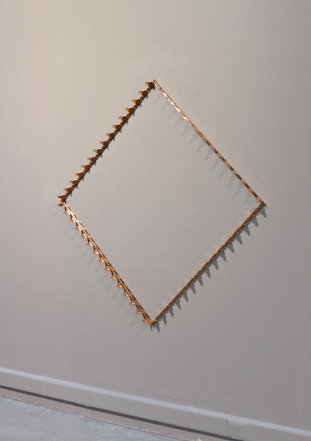 , 'Copper Diamond,' 2011, the 9.99
