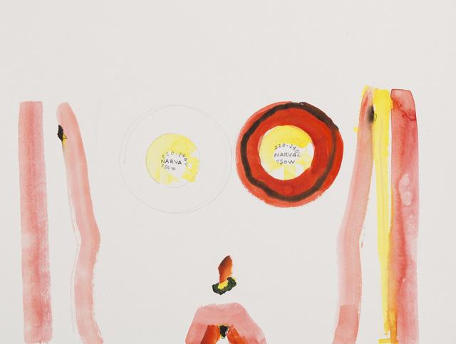 , 'Sans titre (narval),' 2014, Michel Rein Paris/Brussels