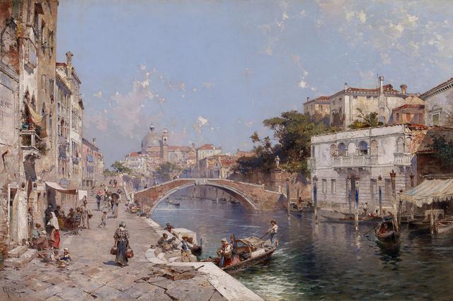 , 'Venice,' ca. 1890, MacConnal-Mason Gallery