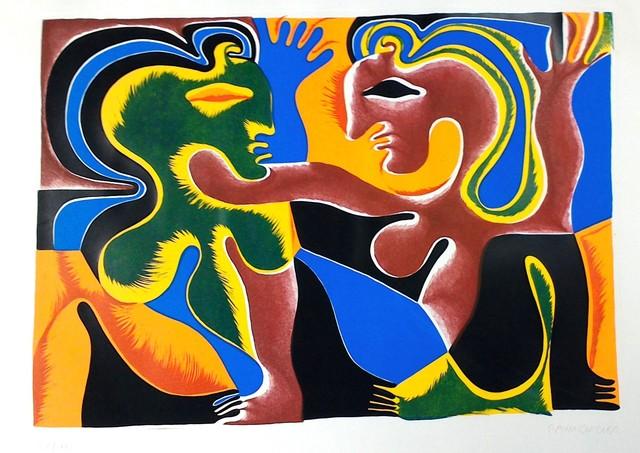 Fritz Baumgartner, 'Lovers', ca. 1970, Wallector