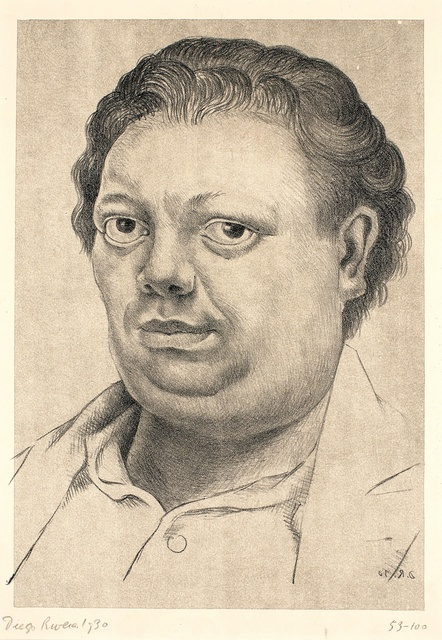 , 'Autorretrato (Self Portrait),' 1930, Blanton Museum of Art