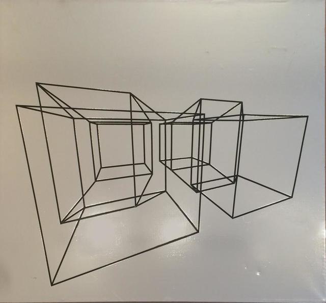 , 'Geometric Computer Drawing on Canvas,' ca. 1970, Eric Firestone Gallery