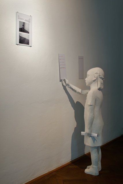 Dominik Lang, 'A Girl With Pigeon', 2017, Prague City Gallery