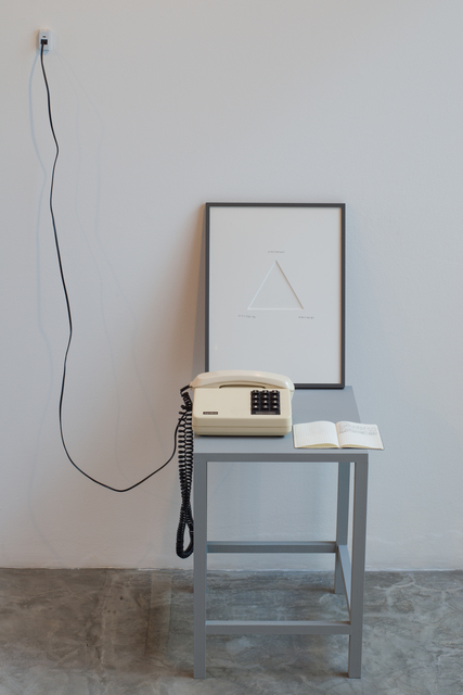 , 'Let it ring,' 2014, Galeria Jaqueline Martins