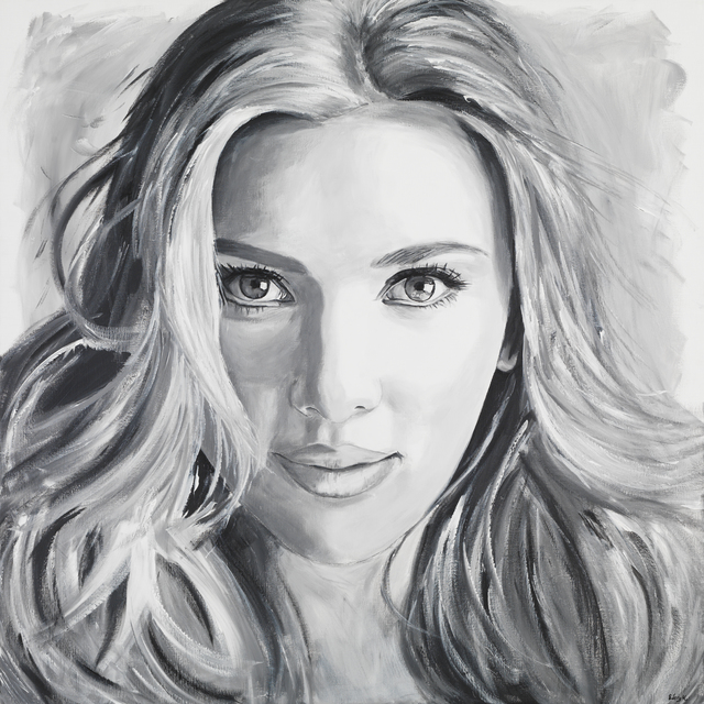 , 'Scarlett Johansson,' 2017, Eden Fine Art