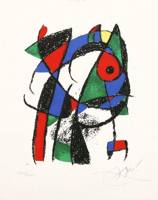 Joan Miró, 'Plate IV (Cramer 1037)', 1975, Sworders
