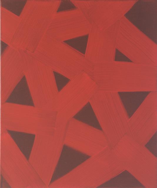 , 'SCARLET IV,' 2017, Galerie Floss & Schultz