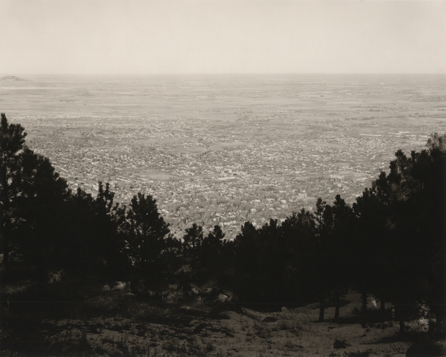 ", '""East from Flagstaff Mountain, Boulder County, Colorado"",' 1975, Lee Gallery"